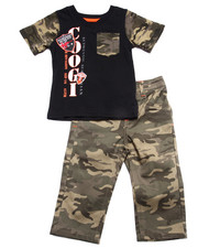 Sets - 2 PC SETS - TEE & CAMO PANTS (INFANT)