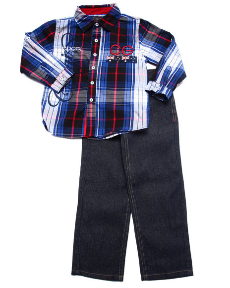 Coogi Navy Sets