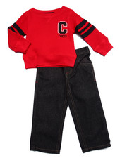 Boys - 2 PC SET - THERMAL & JEANS (INFANT)