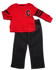 Sets - 2 PC SET - THERMAL & JEANS (2T-4T)