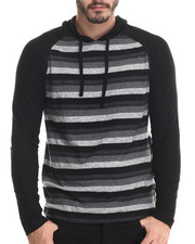Buyers Picks - Striped L/S Pullover Hoody