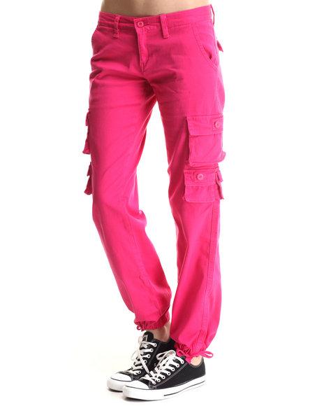 Soho Babe - Women Pink Cargo Boyfriend  Jean