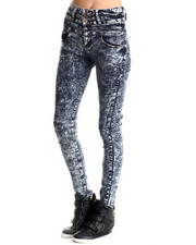 Basic Essentials - Club Night High Wasted Skinny Jean