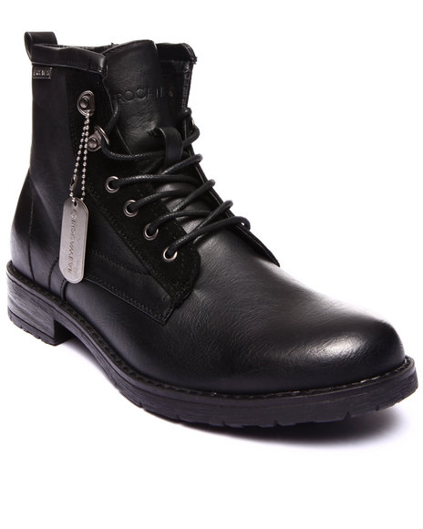 Ur-ID 199447 Rocawear - Men Black Fire Boot