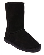 "Footwear - 9"" Faux Fur Lined Suede Outer Boot"