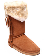 "Footwear - Hoodoo 12"" Faux Fur Lined Suede Outer Comfort-Flex Outsole Boot"