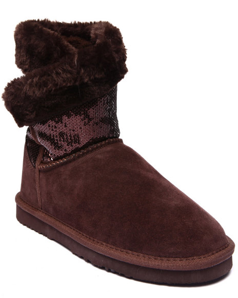 Lamo - Women Brown Snow Dazzle 8