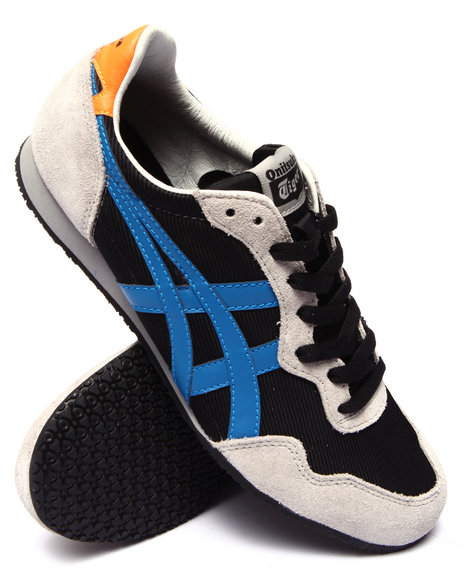 Asics - Men Black Serrano Sneakers