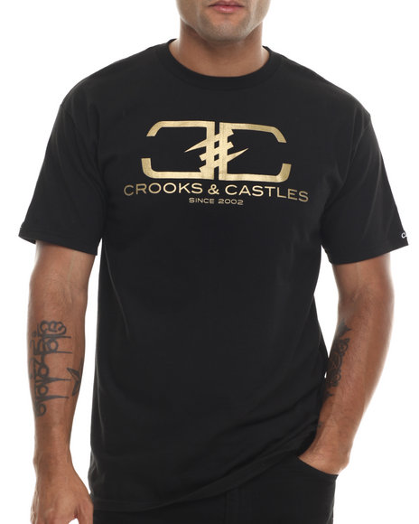 Crooks & Castles - Men Black Hi Class T-Shirt
