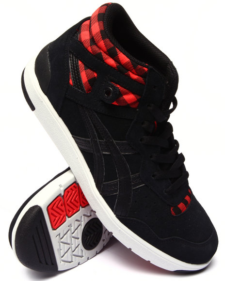 Asics - Men Black,Red Tustin Sneakers
