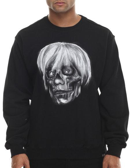 Ur-ID 199517 ROOK - Men Black Warhol Sweatshirt