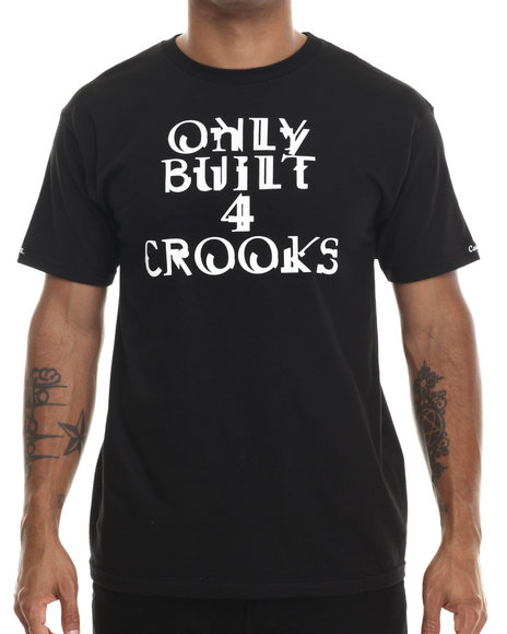 Crooks & Castles - Men Black Linx T-Shirt