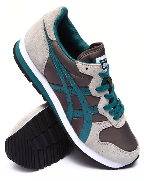 Asics - Men Green,Grey Oc Runner Sneakers