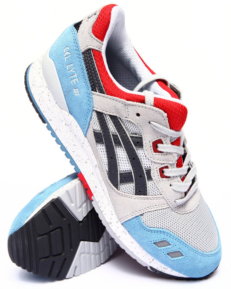 Asics - Men Grey Gel Lyte Iii Sneakers