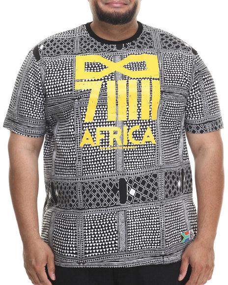 Eight 732 - Men Black Africa T-Shirt (B&T)