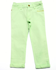 Bottoms - COLOR TWILL JEANS (7-16)