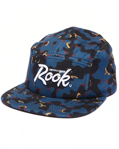 Rook Men Night Fall Back Strap Hat Camo