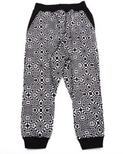 Bottoms - GEO PRINT JOGGERS (4-7)