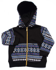 Boys - AZTEC FULL ZIP HOODY (INFANT)