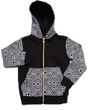 Boys - GEO FULL ZIP HOODY (4-7)