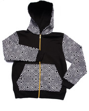 Boys - GEO FULL ZIP HOODY (8-20)