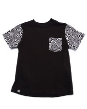 Tops - GEO POCKET TEE (4-7)