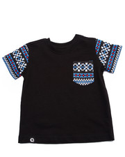 Akademiks - AZTEC POCKET TEE (INFANT)