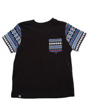 Tops - AZTEC POCKET TEE (4-7)