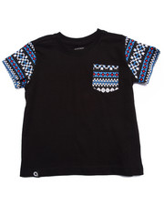 T-Shirts - AZTEC POCKET TEE (2T-4T)