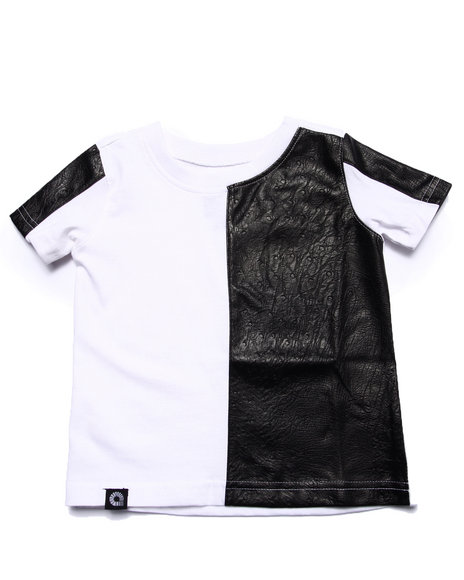 Akademiks - Boys White Cut & Sew Tee (Infant) - $24.99