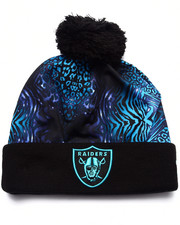 New Era - Oakland Raiders Jungle Freak Knit Hat