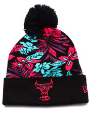 New Era - Chicago Bulls Snow Tropics Knit Hat