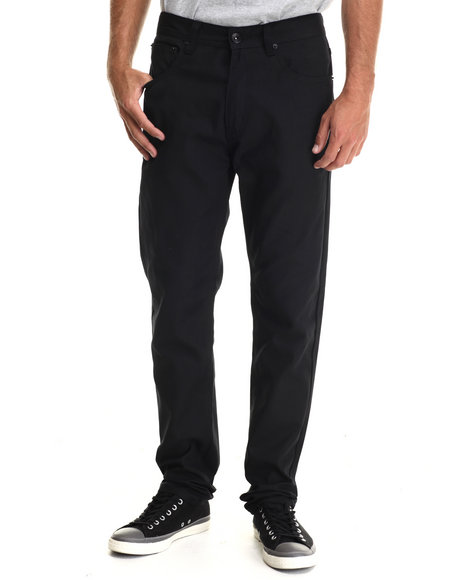 Buyers Picks - Men Black Taper Fit Oxford Pants - $30.99