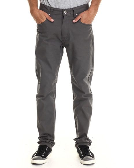 Buyers Picks - Men Grey Taper Fit Oxford Pants - $33.99