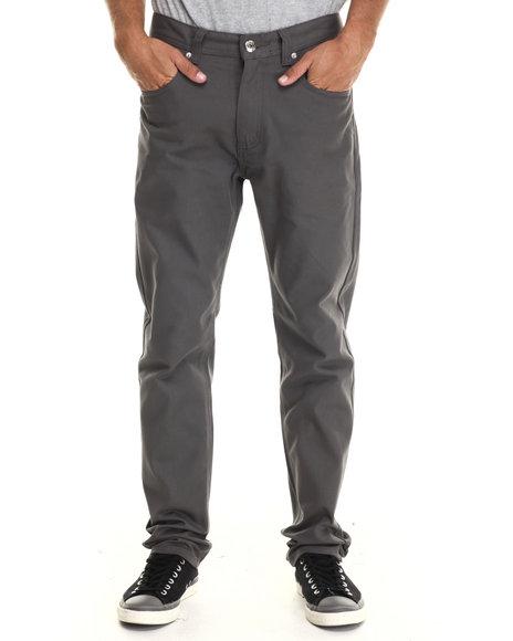 Buyers Picks - Men Grey Taper Fit Oxford Pants - $33.99
