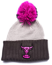 New Era - Chicago Bulls Mondo Pom Knit Hat
