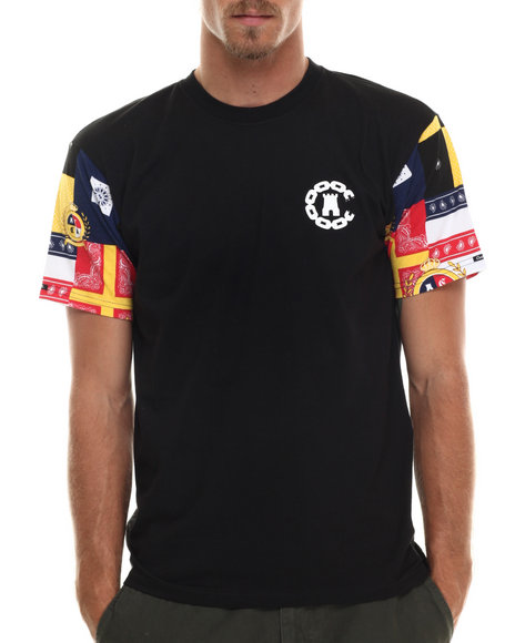 Crooks & Castles - Men Black Lolife T-Shirt