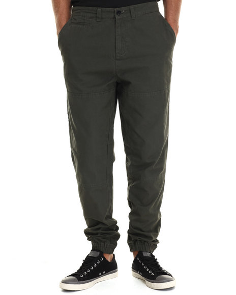 Crooks & Castles - Men Green Lawless Jogger Pant