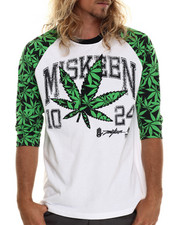 Buyers Picks - Hemp Raglan 3/4 sleeve tee (M-6x)