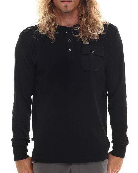 Buyers Picks - Men Black Cascade Ii L/S Thermal Shirt