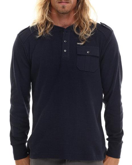 Buyers Picks - Men Navy Cascade Ii L/S Thermal Shirt - $18.99