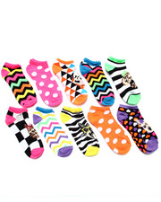 Women - Pet Heads 10 Pk No Show Socks