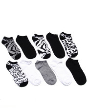 Women - Jungle Fever 10 Pk No Show Socks