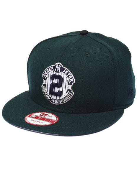 New Era Men New York Yankees Forest Green Jeter Commemorative Custom Green