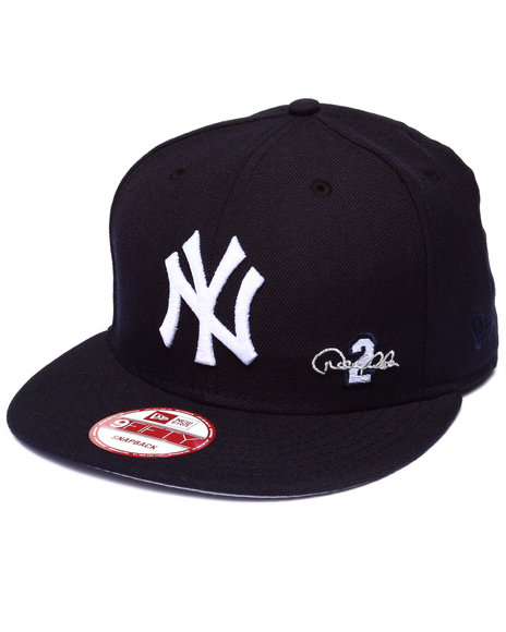 New Era Men New York Yankees Jerek Jeter Commemorative 950 Snapback Navy