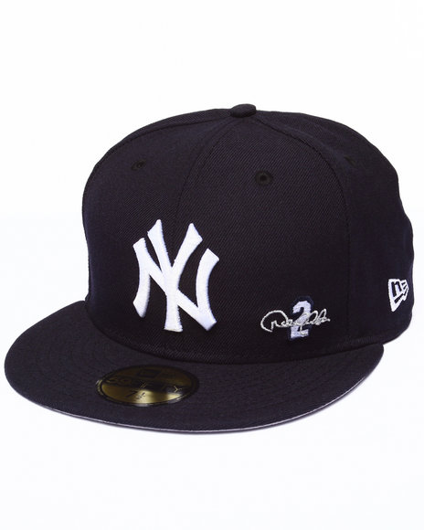 New Era - Men Navy New York Yankees Derek Jeter Commemorative Custom 5950 Fitted Hat