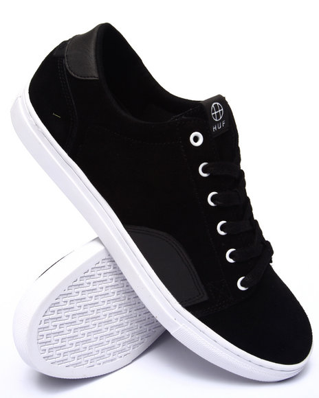 Huf - Men Black Ace Sneakers