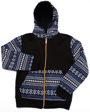Boys - AZTEC FULL ZIP HOODY (8-20)