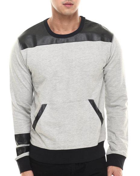 Buyers Picks - Men Grey Madmax Multi Block Sweatshirt - $34.99