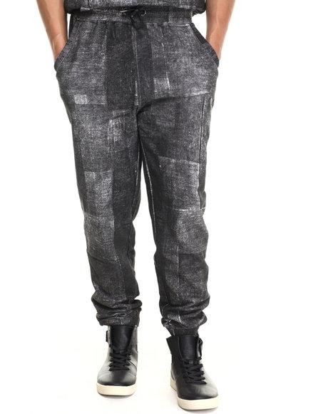 Parish - Men Black Cymk Sweatpants